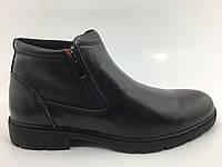 Повседневные ботинки зимние кожаные мужские ботинки натуральный мех