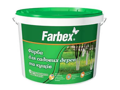 """Краска для садовых деревьев """"Farbex"""", 7 кг"""