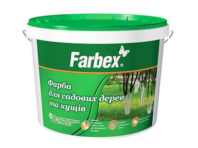 """Краска для садовых деревьев """"Farbex"""", 4 кг"""
