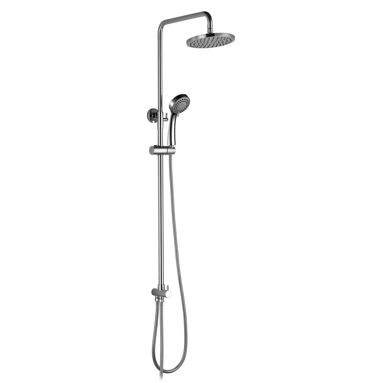 Система душевая без смесителя (верхний и ручной душ 3 режима, шланг 1,5 м)