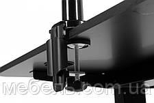 Регулируемый геймерский стол Barsky StandUp Memory 1350*670 BSU_el-03/BF-01 (с кронштейном), фото 2