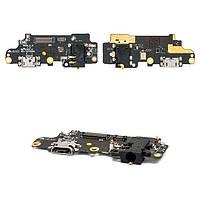 Шлейф - плата зарядки для Meizu M5 Note M621, коннектора зарядки, оригинал