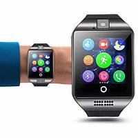 Умные часы Smart Watch Q18, смарт вотч, часы телефон, сим карта, карта памяти, SIM
