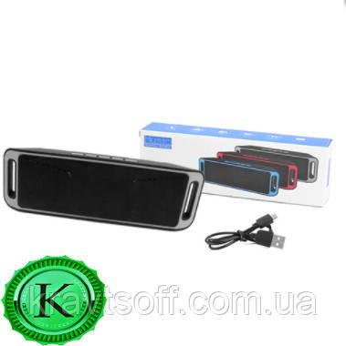 Беспроводная bluetooth-колонка SC-208 c функцией speakerphone, радио