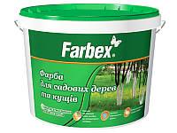 """Краска для садовых деревьев """"Farbex"""", 20 кг"""