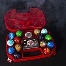 Игровой набор Кейс-бокс для хранения Бакуган (Красный) + Герой фигурка Baukugan   , фото 3