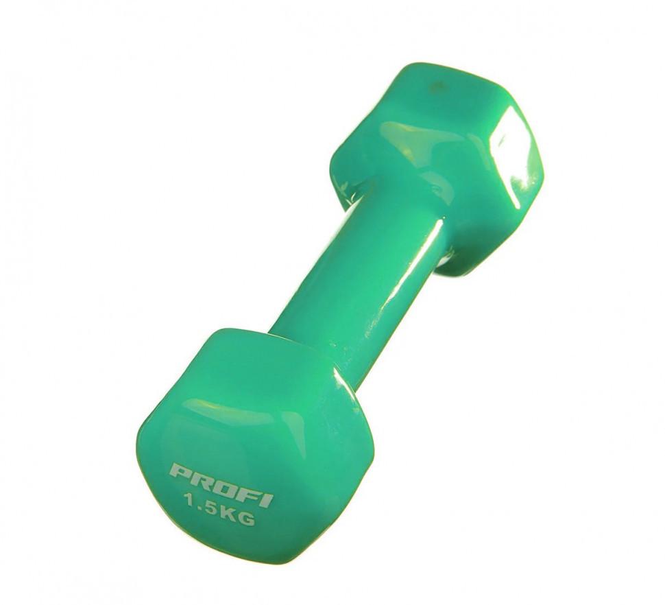 Гантель MS 0665 (Зелёный)