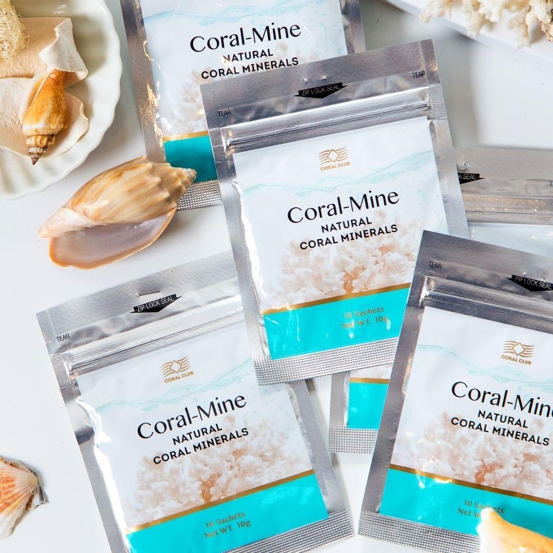 Корал-Майн / Coral-Mine - 1 уп. 30 саше Япония /Коралловая вода, коралова вода, коралловая вода, щелочная вода