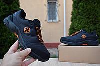 Женские кроссовки COLUMBIA FIRECAMP (на флисе) осень-зима, чёрно-оранжевые. Размеры (36,38,39,41), фото 1