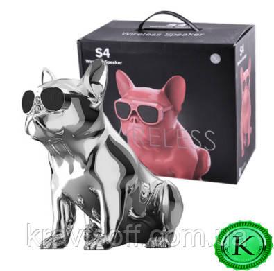 Bluetooth-колонка Aerobull BIG DOG METALLIC S4, c функцией speakerphone, радио