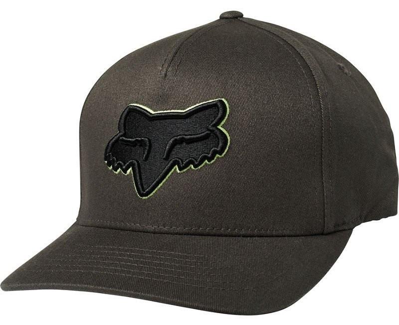 Кепка FOX EPICYCLE FLEXFIT HAT [BLACK VIN], L/XL