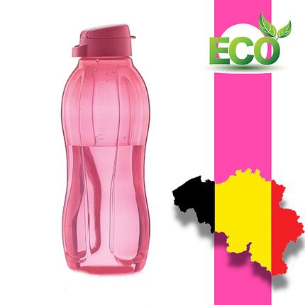 Еко пляшка (1,5 л) Tupperware (червона з гвинтовою кришкою), фото 2