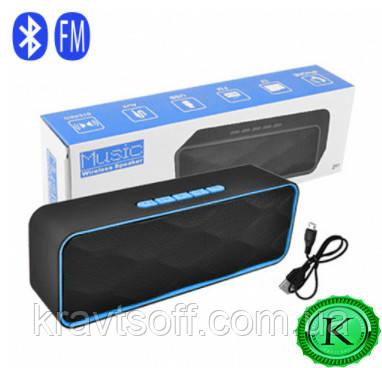 Беспроводная bluetooth-колонка SC-211, c функцией speakerphone, радио