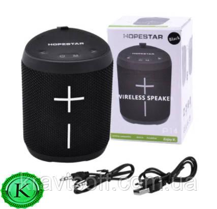 Беспроводная bluetooth-колонка HOPESTAR-P14, StrongPower, c функцией speakerphone, радио, PowerBank