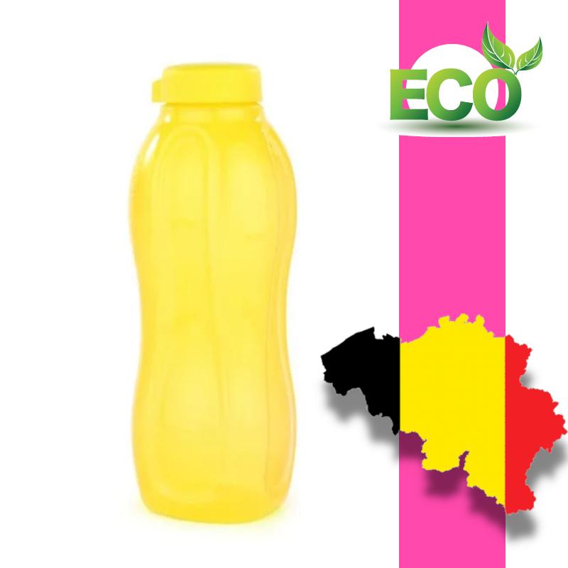 Еко пляшка (1,5 л) Tupperware (жовта з гвинтовою кришкою)