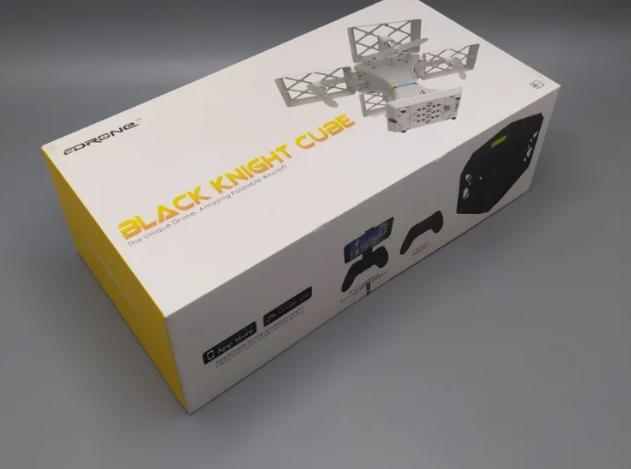 Квадрокоптер Black Knight Cube 414 WiFi Черный