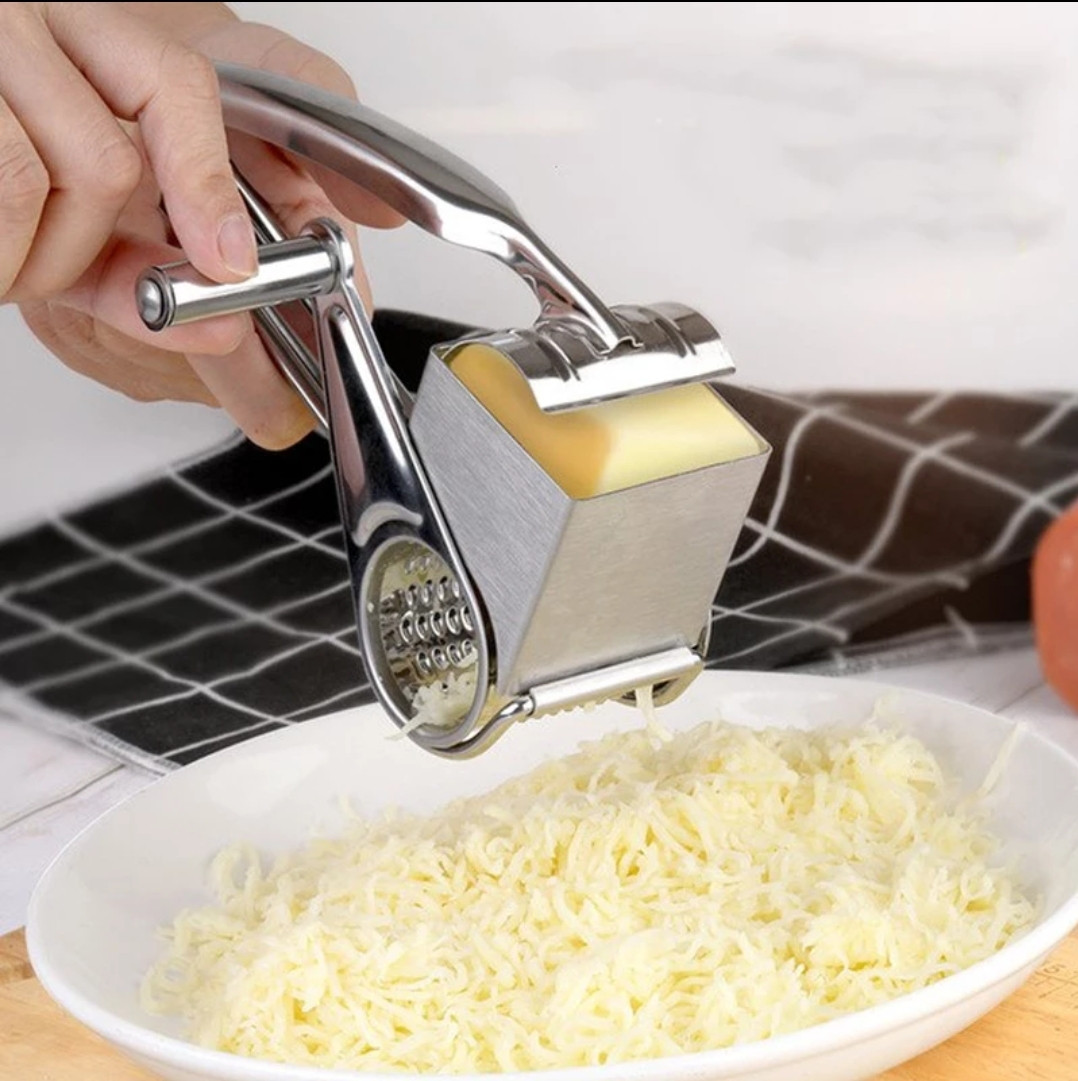 Механічна терка для сиру Kamille 19,5*10*8 см.