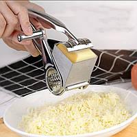 Механічна терка для сиру Kamille 19,5*10*8 см., фото 1