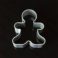 Алюминиевая форма для печенья - Рождественский человечек