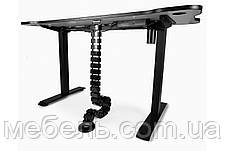Регулируемый геймерский стол Barsky StandUp Memory + кабель-менеджмент BSU_el-02/BCM-01, фото 3