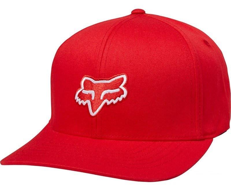 Кепка FOX LEGACY FLEXFIT HAT [DRK RED], S/M