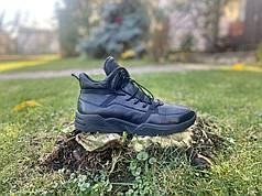 Мужские зимние кожаные кроссовки KaDar размеры 38,39,40,41,42,43,44-45