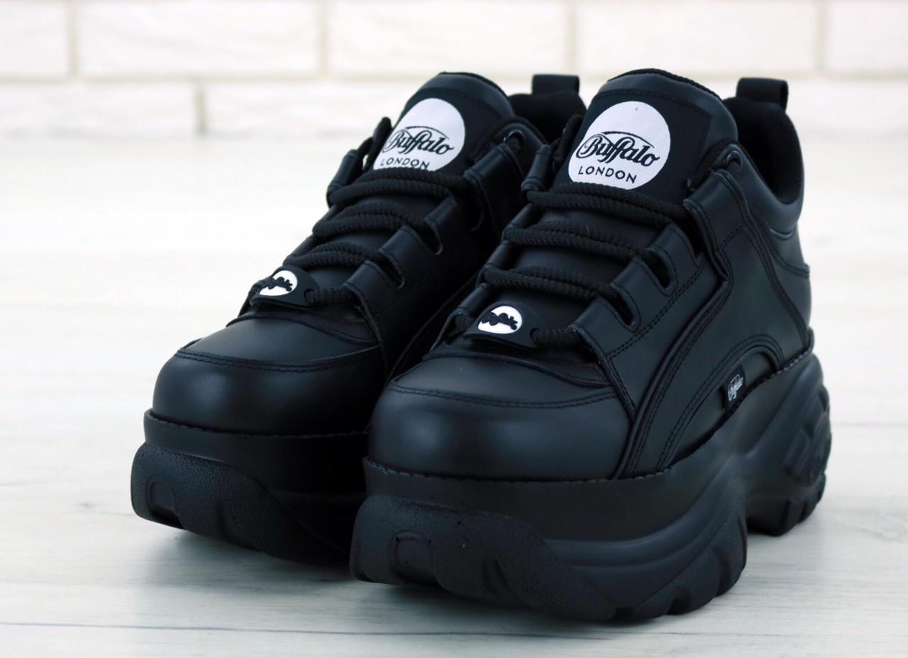 Женские черные Кроссовки Buffalo London