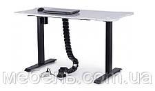 Регульований стіл Barsky StandUp Memory + кабель-менеджмент BSU_el-03/BCM-01, фото 3