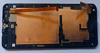 HTC Desire 700 дисплей + сенсор з рамкою оригінальний модуль