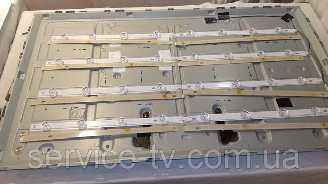 Замена подсветки телевизора LG