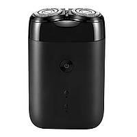 Электробритва Xiaomi MiJia Portable Double Head Electric Shaver Black S100 (6934177710308)