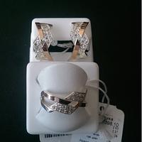 Ювелирный набор с золотом 0098
