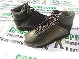 Тактические черные ботинки Surplus. Кожа, фото 2
