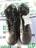 Тактические черные ботинки Surplus. Кожа, фото 4