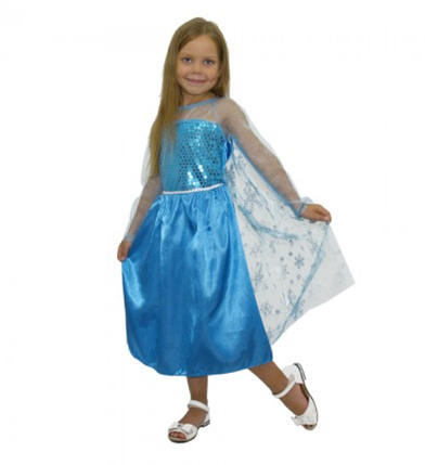 "Платье Эльза на девочку ABC (L) ""Холодное сердце"", фото 2"