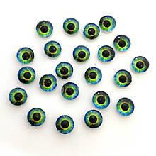 Глаза 6 мм (6-055). Цена за 2 шт.