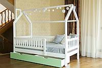 Детская кровать домик Викки new массив дерева