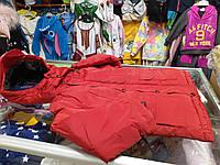 Зимняя Куртка пуховик для мальчика р.104-128