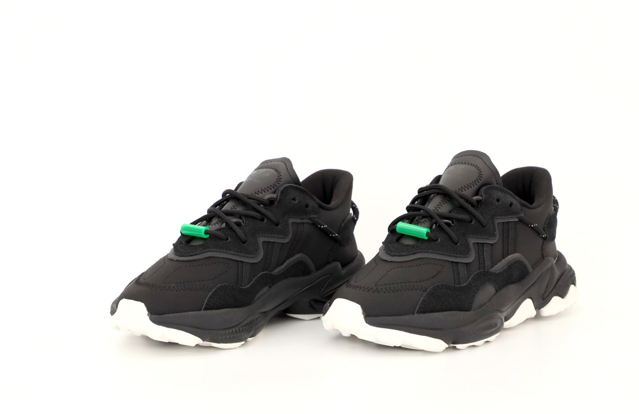Женские черные Кроссовки Adidas Ozweego
