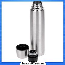 Термос металлический UNIQUE UN-1003 0,75 л с чехлом, питьевой термос, фото 3