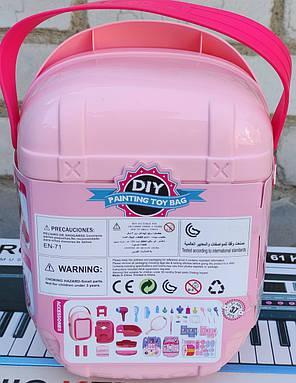 Набор детской декоративной игрушечной косметики для девочек чемоданчик муляж Suitcase Set 37в1, фото 2