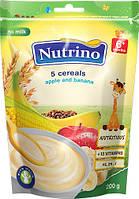 Каша молочная Nutrino 5 злаков яблоко банан 6м+ 200г Сербия 1020043