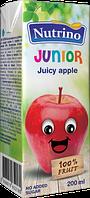 Сок детский Nutrino яблоко 4м 200г Сербия 1040032