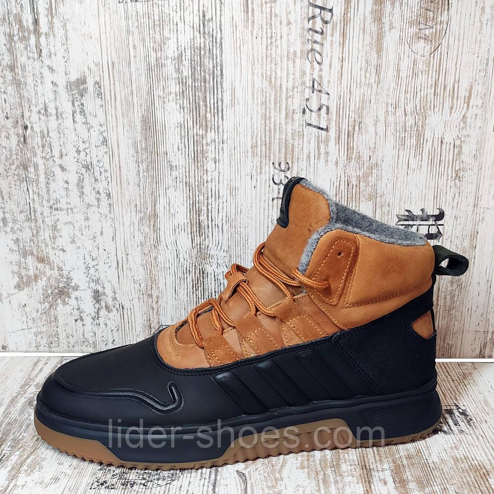 Ботинки мужские на меху