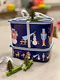 Купить набор контейнеров судков акваконтроль Щелкунчик 1.3/0.5 л 2 шт. Лускунчик чудовий подарунок Tupperware, фото 2