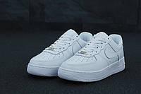 Женские белые Кроссовки Nike Air Force 1 41