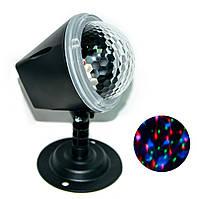 Дискошар - светомузыка для дома Magic Ball Light, светодиодная диско лампа | світломузика для дому, фото 1
