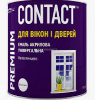 "Фарба акрилова універсальна ""Contact"" біла 0,75л"
