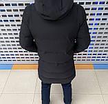 Мужская зимняя куртка Calvin Klein H1103 черная, фото 3