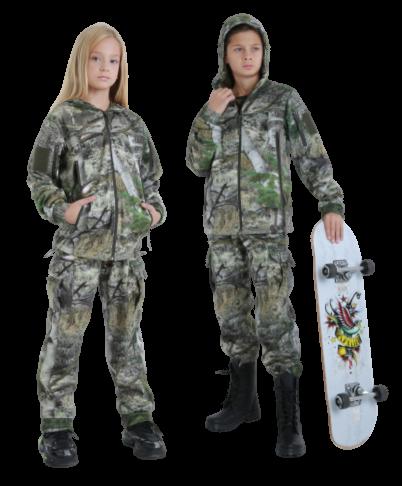 Костюм детский камуфляжный теплый Скаут StormWall PRO цвет Секвойя